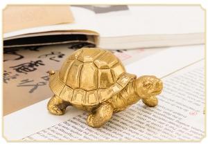 Tượng linh vật rùa kim quy bằng đồng thau phong thủy Hồng Thắng